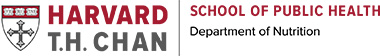 Harvard T.H. Chan School of Public Health Department of Nutrition Logo